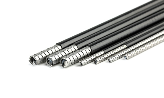 Flat Steel Cable : Various flat wrap cable outer casing steel